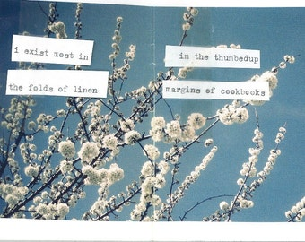 cut here || mini-zine of collage and poetry