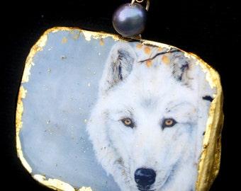 wolf  jewel