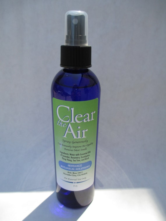 Items Similar To Clear The Air Herbal Spray Air Aromatherapy Air Freshener Really Works