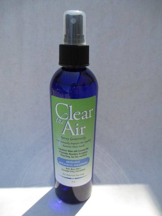 Items similar to clear the air herbal spray air for Bathroom air freshener
