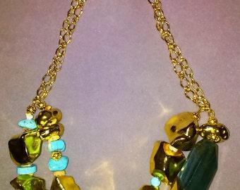 golden nugget necklace