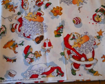 Christmas fabric from The Alexander Henry Fabrics Collection