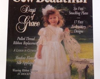 Sew Beautiful magazine Easter 1997