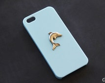Dolphin iPhone 5s iPhone 5 Dolphin Case iPhone 6 Animal Case Blue iPhone 5c Case Galaxy S4 Dolphin Case Galaxy S3 Dolphin iPhone 6 Plus