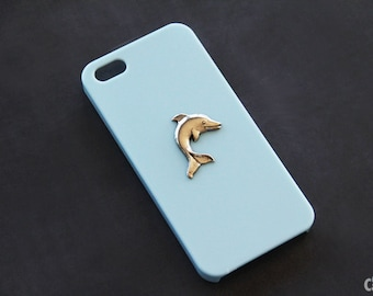 iPhone X Case iPhone 8 Case Dophin Dophin Case iPhone 6 Animal Case Blue Case iPhone 7 Dophin Case iPhone 7 Plus Dophin iPhone 6 Plus