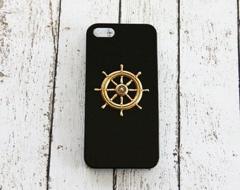 Nautical Phone Case iPhone 5c Nautical Sailing Sailboat iPhone 7 iPhone 6 Black iPhone 5 Nautical Case iPhone 6 Plus Black iPhone 7 Case