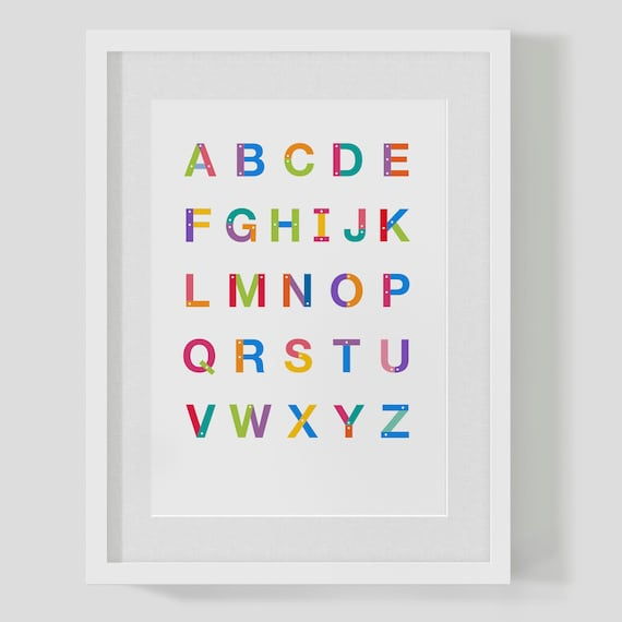 Free poster size letters