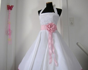 weddingdress,rockabillyweddingdress,bridalgown,petticoat weddingdress,crinoline,pink dress,white weddingdress,dress für bride,tailormade,