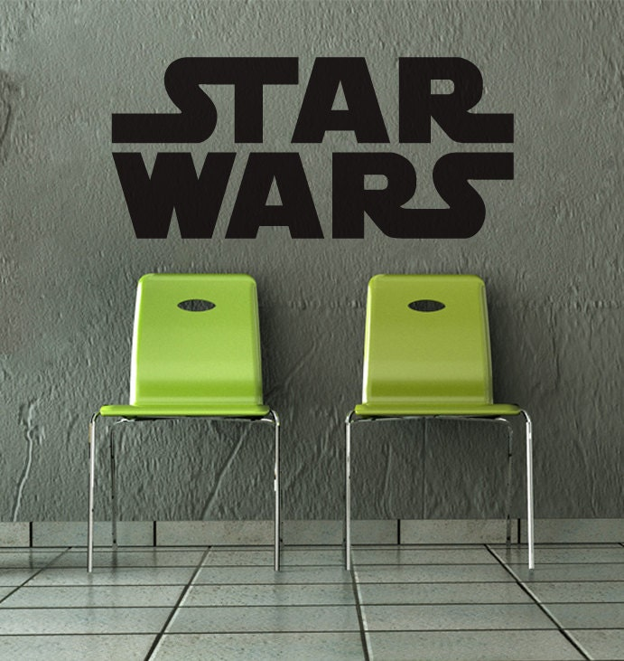 Star Wars Wall Decal Home Decor By Newpoint On Etsy