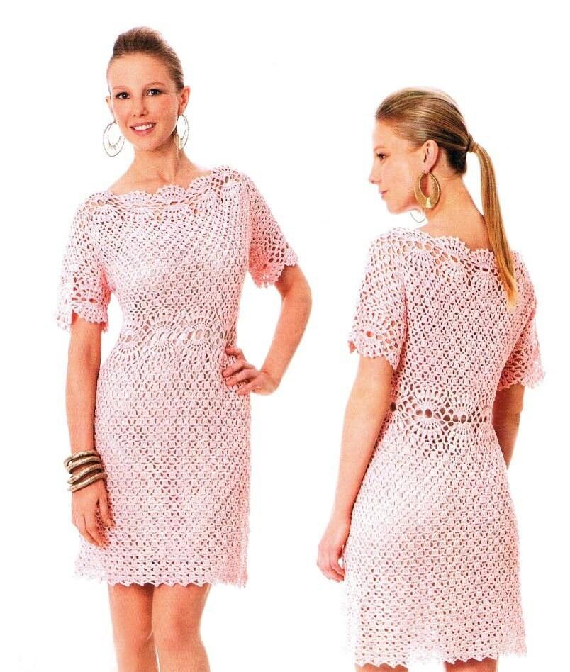 Crochet Dress Pattern For Kids Crochet Party Dress Pattern