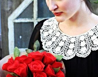 18 Felt Roses - Felt Flower Bouquet