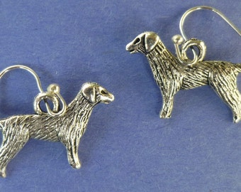 Golden Retriever and Lab Charm Earrings  E004