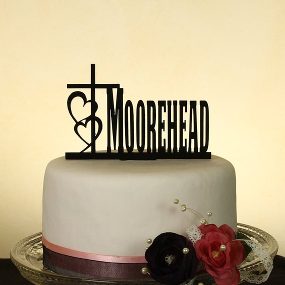 last name wedding cake toppers last name personalized wedding cake topper by distinctly 16722