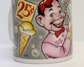 1987 Vintage Howdy Doody NBC Ceramic Coffee Mug