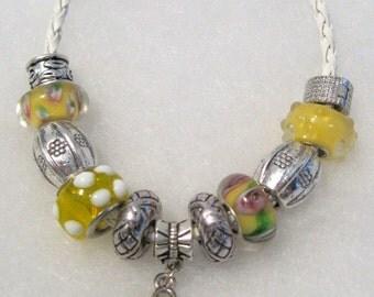 199 - CLEARANCE - Yellow Awareness Bracelet