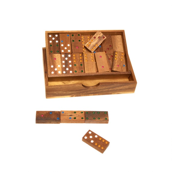 handmade dominoes items similar to domino wooden domino woodworking 1028