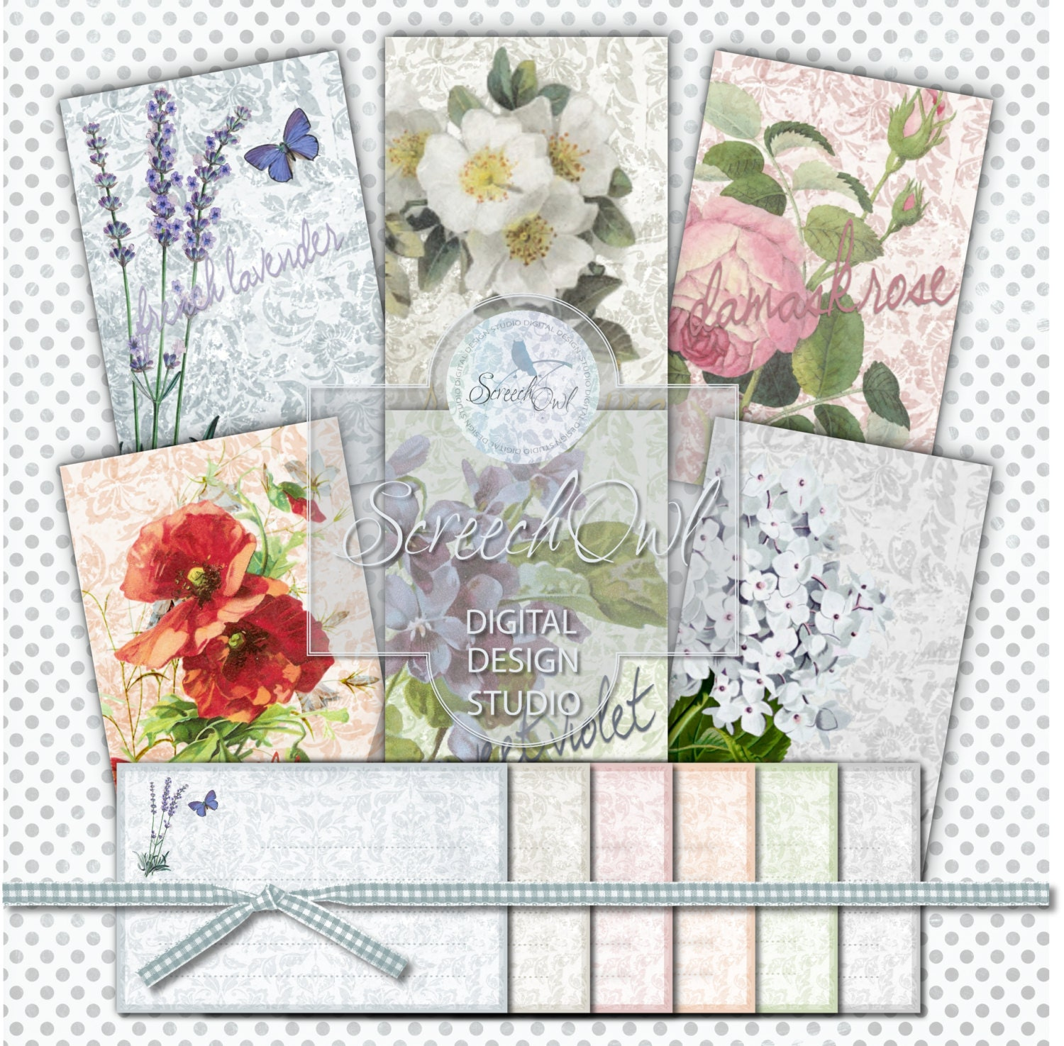 Seed Packet, Note Cards, Seed Sachet, Notelets, Card and ...