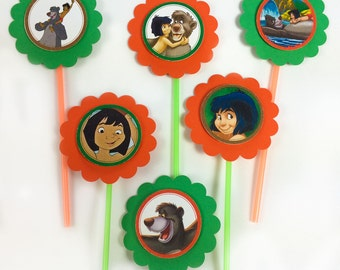 Disney's Jungle Book cupcake toppers - Set of 12
