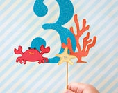 Under the Sea Collection - Custom Cake Topper from Mary Had a Little Party