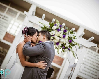 Pin / Comb / Clip Aubergine Dark Purple Lavender. Big Day Sophisticated Holiday, Bride Bridal Bridesmaid Hair Clip, Floral Spring Etsy Gift