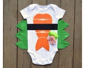 Funny Baby Bodysuit, Sushi Costume, Baby Costume, Tuna and Shrimp Sushi Costume, Funny Baby Costume, Baby Geekery, Food Costume, Sushi Onsie