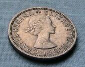 Queen Elizabeth II   17 Old Coins from Great Britain