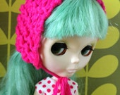 Blythe hat knitted
