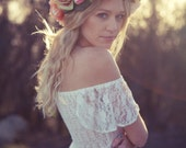 Tangerine Fields Headpiece