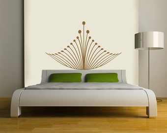 Royal Crown Headboard Wall DECAL-interior design, tattoo, sticker art, room, home and business decor