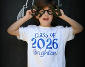 Back to school, Class of, personalized kids t-shirt