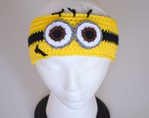Unique Minion Headband Related Items Etsy