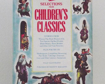 Best Loved Selections From Childrens Classics Book 1963 - Best Loved Selections From Childrens Classics Book
