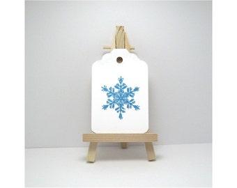 Snowflake Tags, Christmas Gift Tags, Winter Tags, Winter Gift Tags, Christmas Tags, Holiday Gift Tags, Snowflake Gift Tags