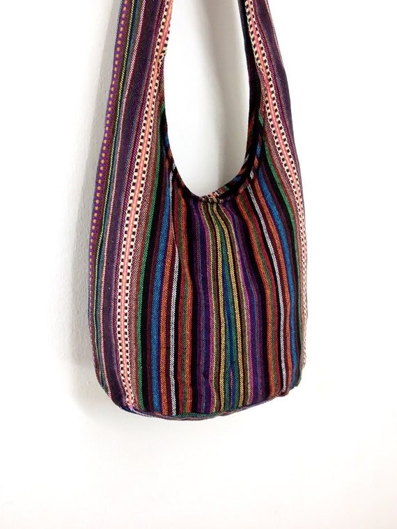 Handmade Woven Cotton Bag Hippie bag Hobo bag Boho bag