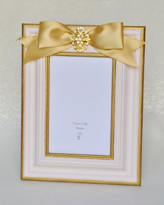 baby girl picture frame shower gift baby nursery choose your size 4x6