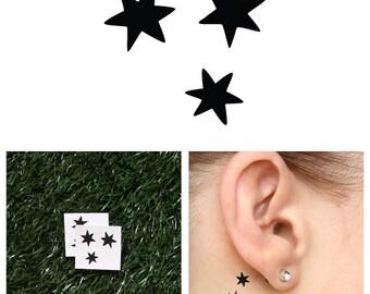 Harry Potter - Stars - Temporary Tattoo (Set of 2)