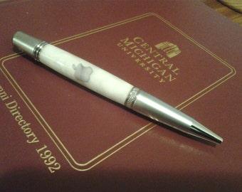 Acrylic Handcrafted iPen Twist Ballpoint Pen