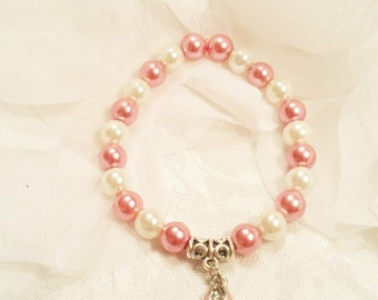 Cancer Awareness / Breast Cancer Jewelry / Breast Cancer Ribbon / Cancer Survivors /  Awareness Charm