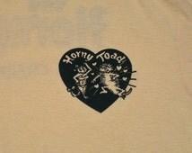 80s T Shirt Horny Toad Bar restaurant M/L heart rainbow logo tan screen stars soft tourist tee funny humor Arizona