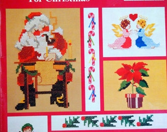 Iron-On Transfers For Cross Stitch For Christmas Cross Stitch Iron-On Pattern Vintage Cross Stitch 1981