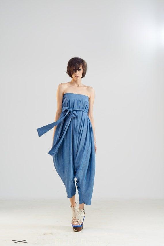 Womens Jumpsuit Harem Pants Plus Size Pants Maxi Pants