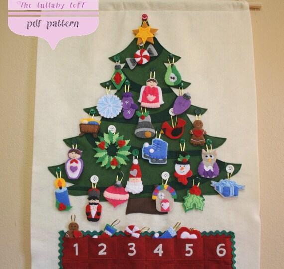 Christmas Tree Advent Calendar Pattern 29 By Thelullabyloft