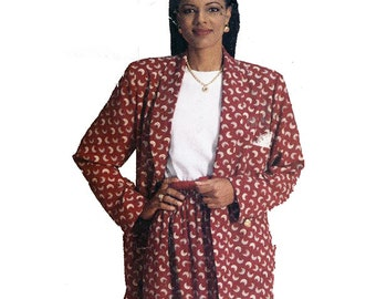 Butterick Sewing Pattern 3610 See & Sew Misses Jacket, Skirt, Top  Size 16-24  Uncut
