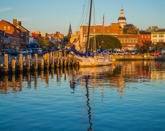 Annapolis in the early morning's light
