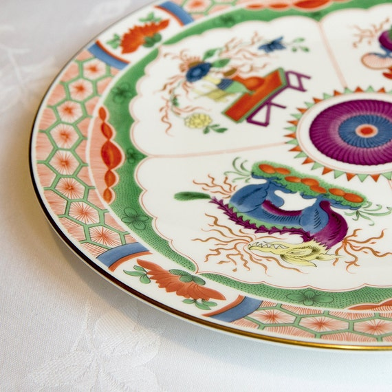 Royal Worcester, Kylin Pattern, Collectors Series porcelain Plate