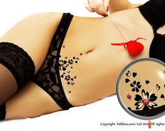 Vajazzle Body Art