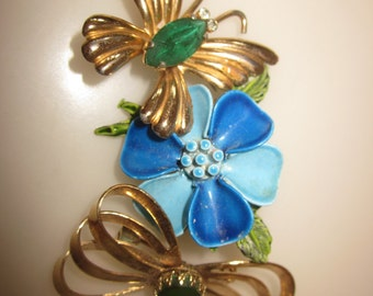 BUTTERFLY FLORAL PINS  3 for one price