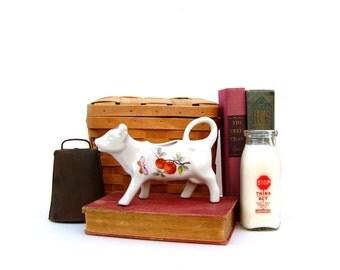 Vintage Cow Creamer Mid century Kitchen Dairy Cow Milk pitcher Andrea Sendak Japan