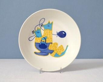 Rare Arabia of Finland Kengu Child's Bowl by Gunvor Olin-Gronqvist