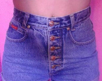1990's Vintage High Waisted Jean Shorts